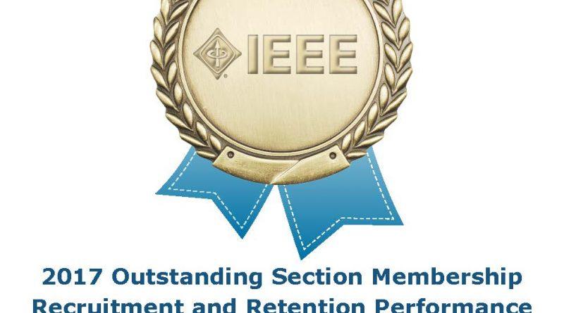 IEEE Sección El Salvador reconocida mundialmente por su desarrollo de membresía