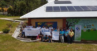 Grupo SIGHT El Salvador instala sistema fotovoltaico en comunidad de Perquín