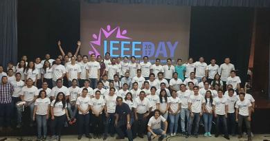Miembros estudiantiles celebran el IEEE Day 2017