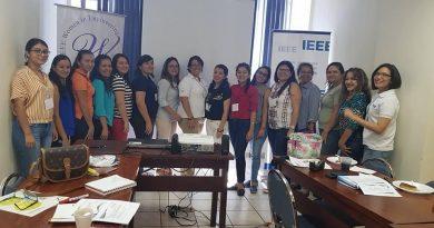 Primer taller de voluntarias WIE en El Salvador